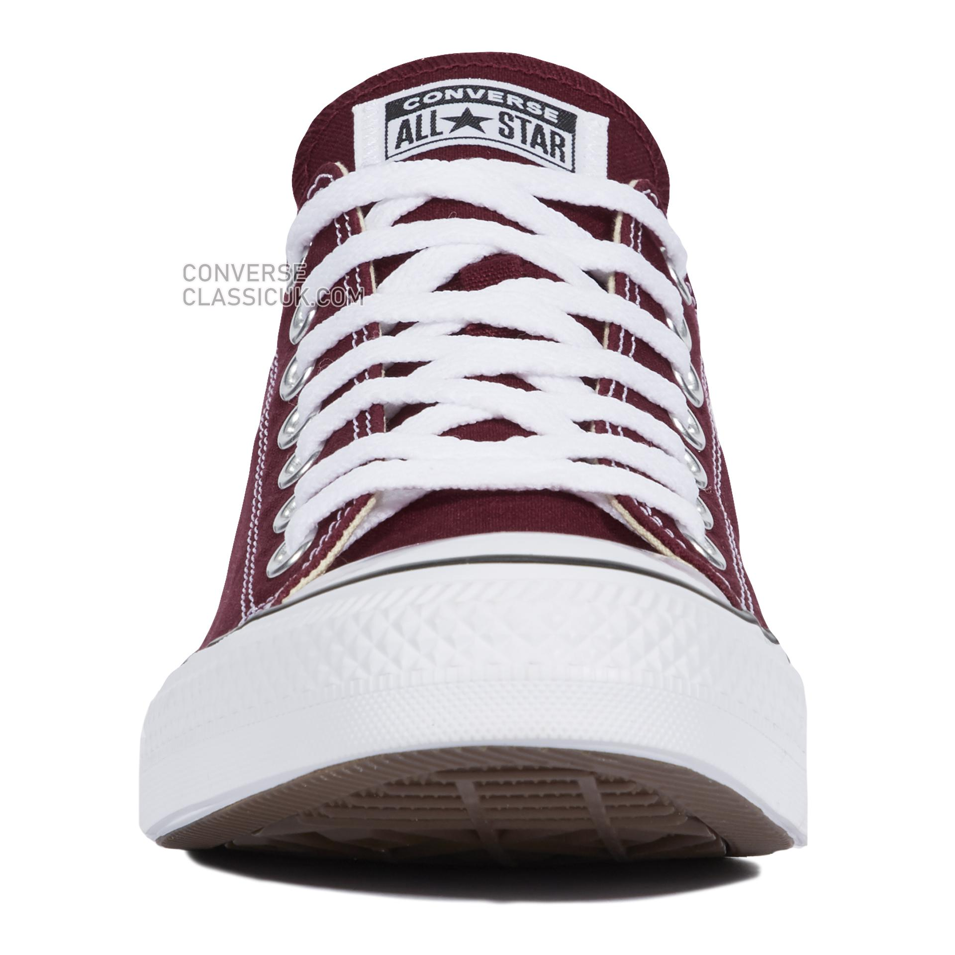 Converse Chuck Taylor All Star Classic Mens Womens Unisex M9691C Maroon Shoes