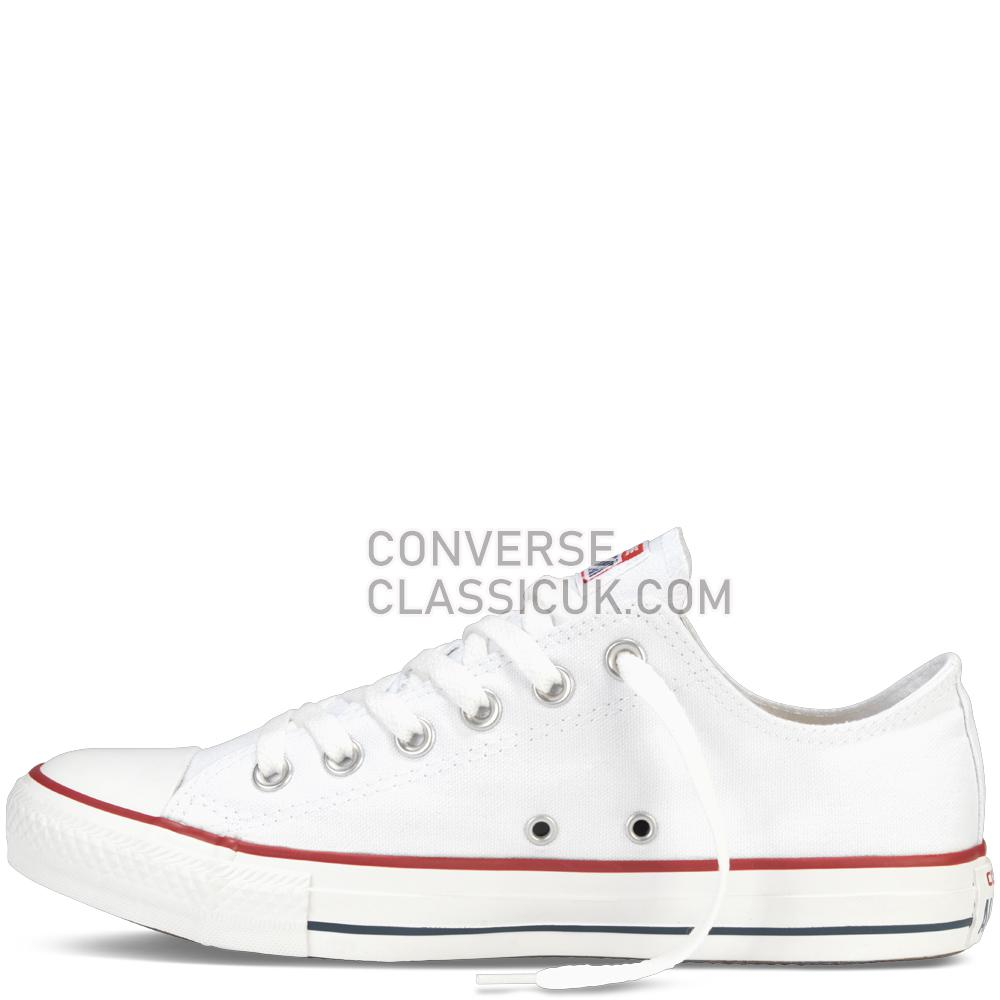 Converse Chuck Taylor All Star Classic Mens Womens Unisex M7652C Optical/White Shoes