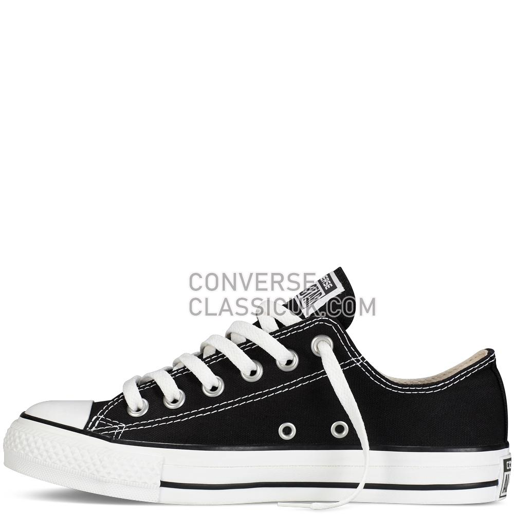 Converse Chuck Taylor All Star Classic Mens Womens Unisex M9166C Black Shoes
