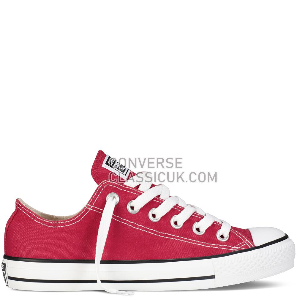 Converse Chuck Taylor All Star Classic Mens Womens Unisex M9696C Red Shoes