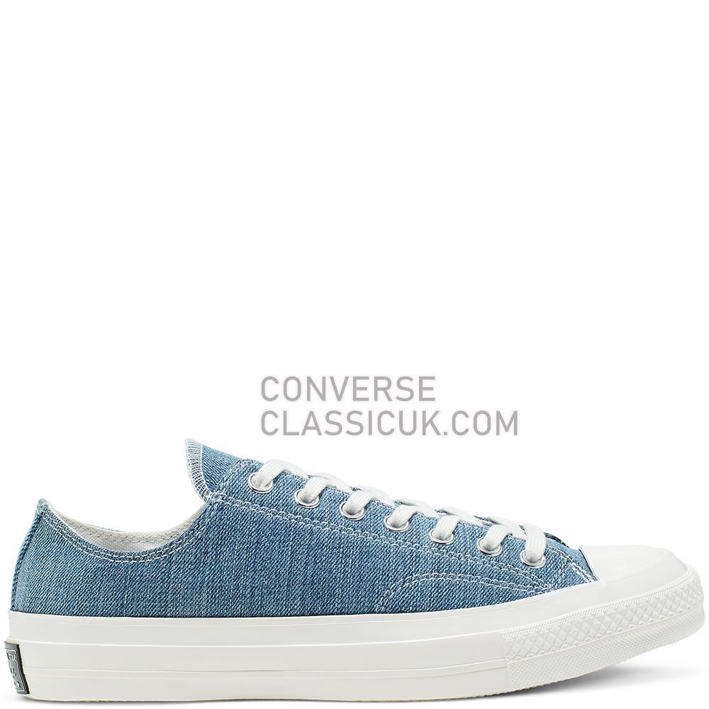 Converse Renew Denim Chuck 70 Low Top Mens Womens Unisex 165649C Medium/Denim/Egret/Egret Shoes