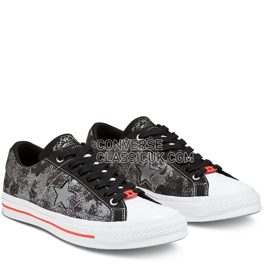 Converse X Sad Boys One Wish One Star Mens 165743C Almost/Black/White Shoes