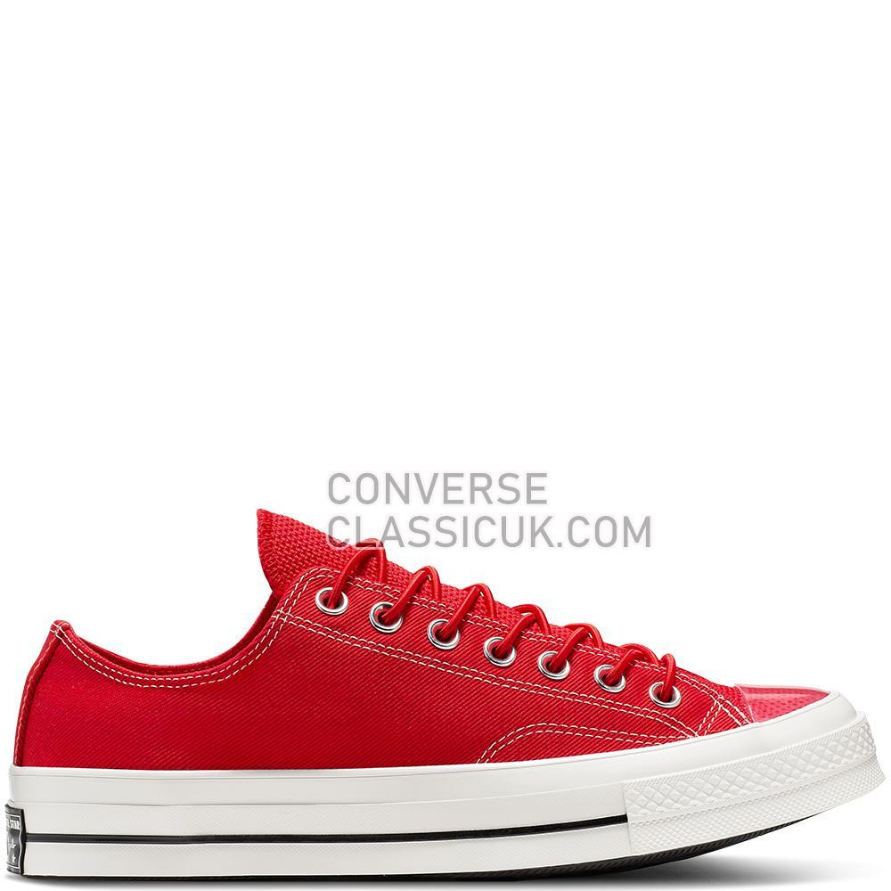 Converse Chuck 70 Space Racer Low Top Mens Womens Unisex 165469C Enamel/Red/Black/Egret Shoes
