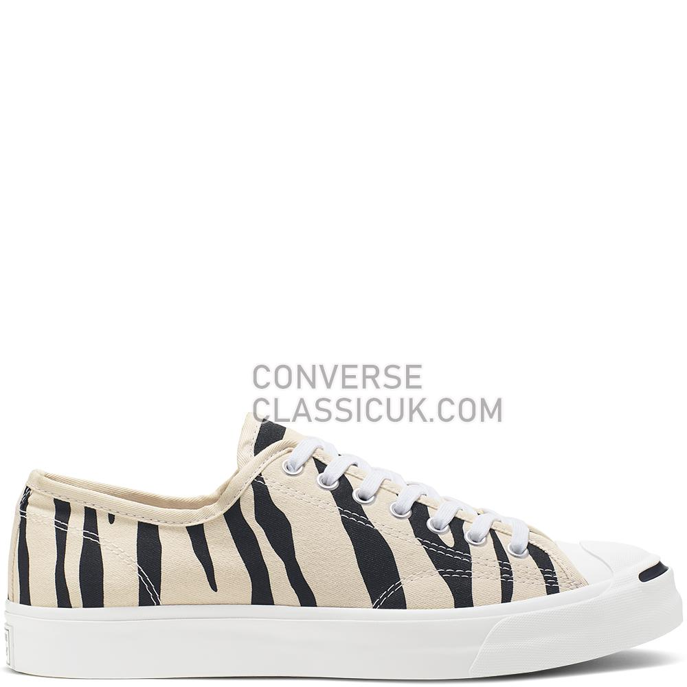 Converse Jack Purcell Archive Prints Low-Top Mens Womens Unisex 165028C Black/Greige/White Shoes
