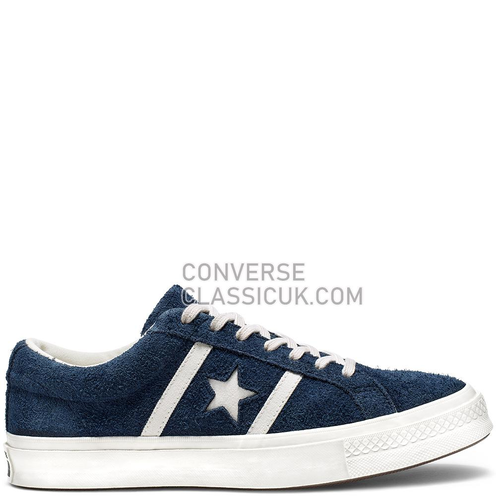 Converse One Star Academy Low Top Mens Womens Unisex 165022C Obsidian/Egret/Egret Shoes