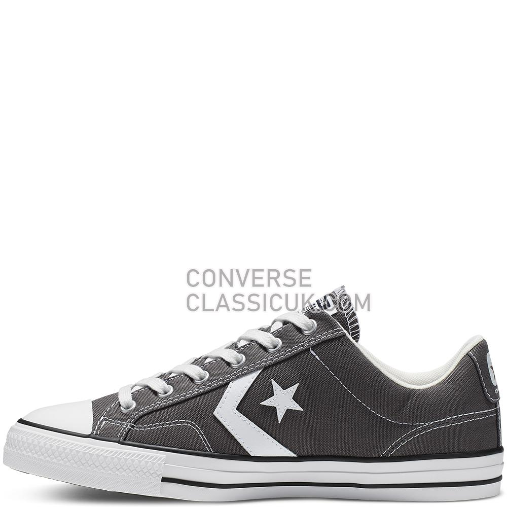 Converse Star Player Low Top Mens 165462C Carbon/Grey/White/Black Shoes
