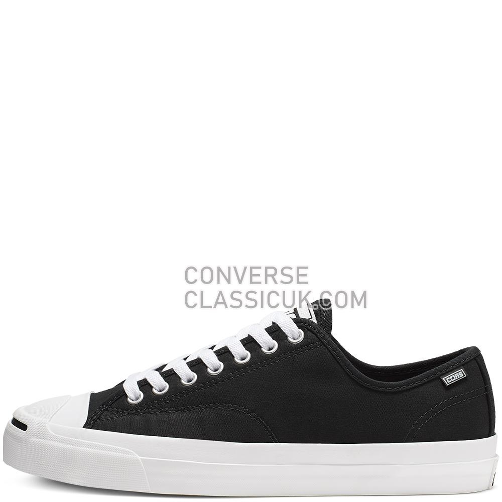 Converse Jack Purcell Pro Archive Prints Low Top Mens Womens Unisex 165339C Black/White/Black Shoes