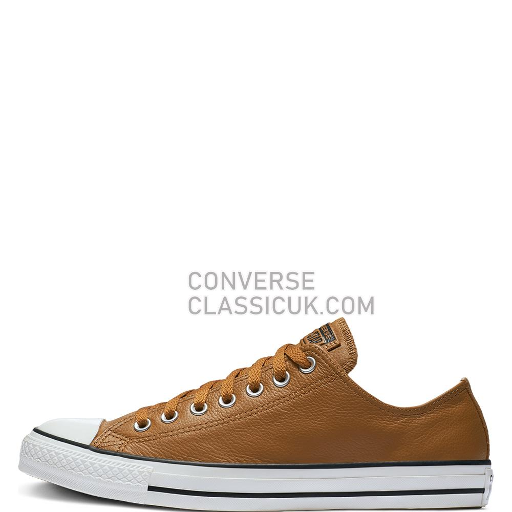 Converse Chuck Taylor All Star Leather Low Top Mens Womens Unisex 161496C Burnt/Caramel/Burnt/Caramel Shoes