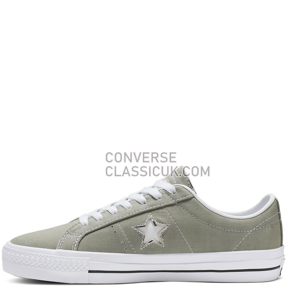 Converse One Star Pro Archive Prints Low Top Mens Womens Unisex 165337C Jade/Stone/Black/White Shoes