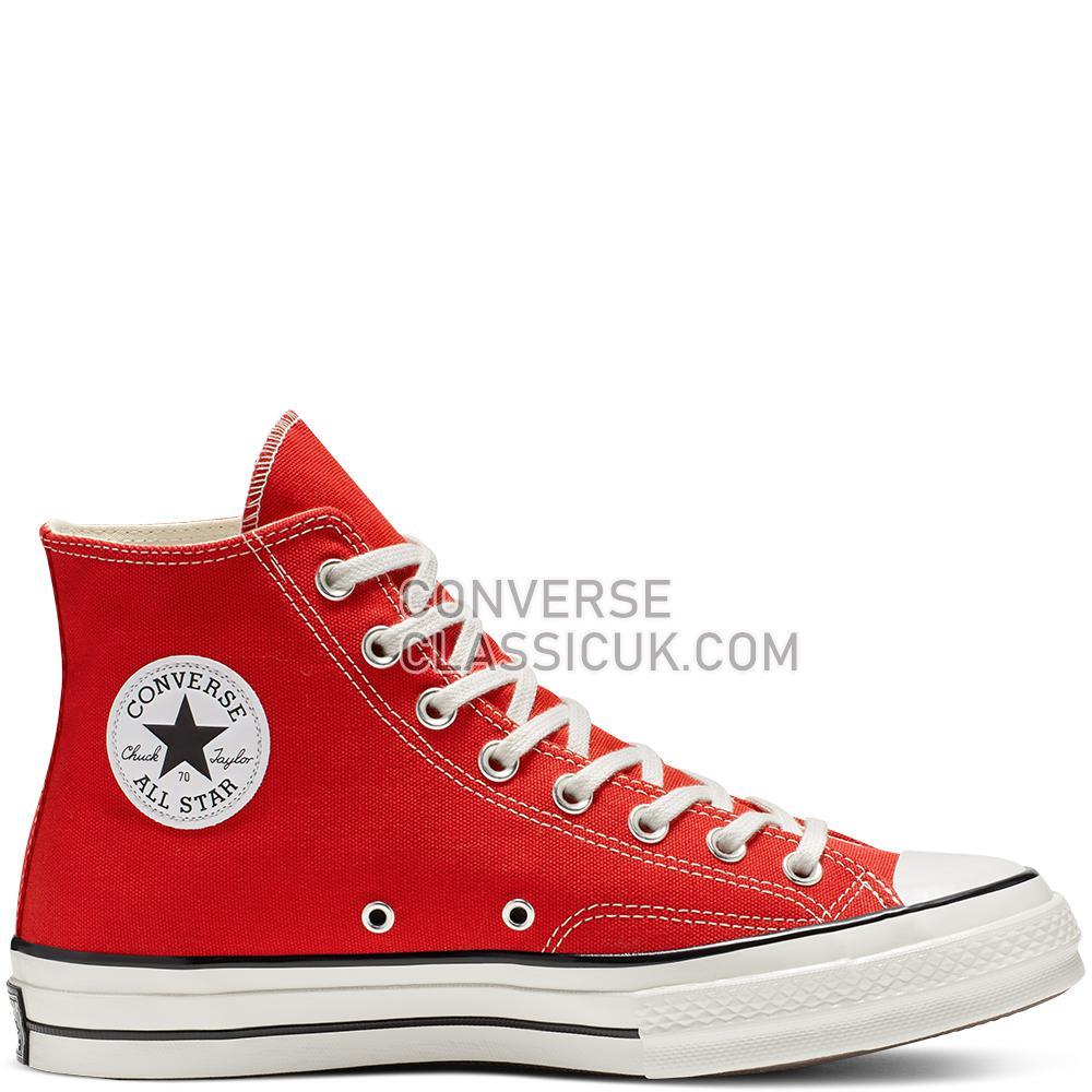 Converse Chuck 70 Vintage Canvas High-Top Mens Womens Unisex 164944C Enamel/Red/Egret/Black Shoes