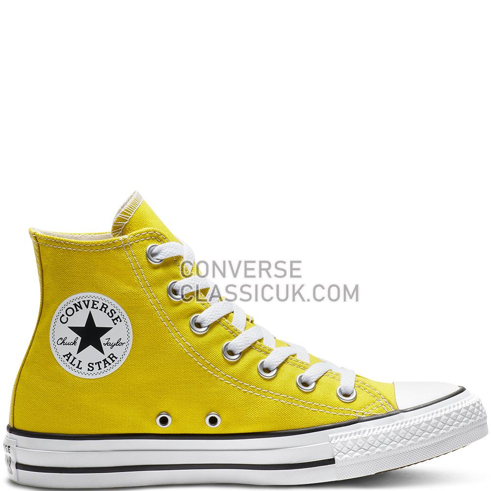 Converse Chuck Taylor All Star Classic High Top Mens Womens Unisex 163353C Bold/Citron Shoes