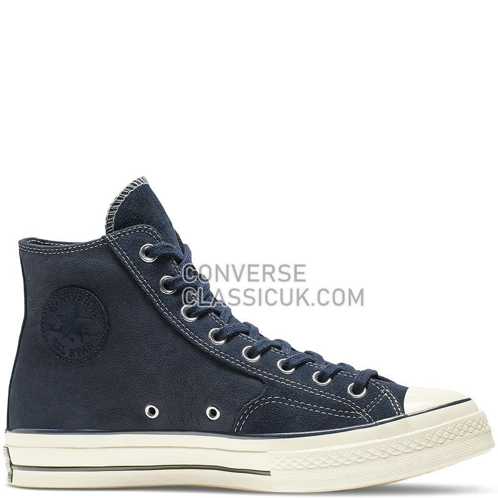 Converse Chuck 70 Leather High Top Mens Womens Unisex 164931C Obsidian/Egret/Black Shoes