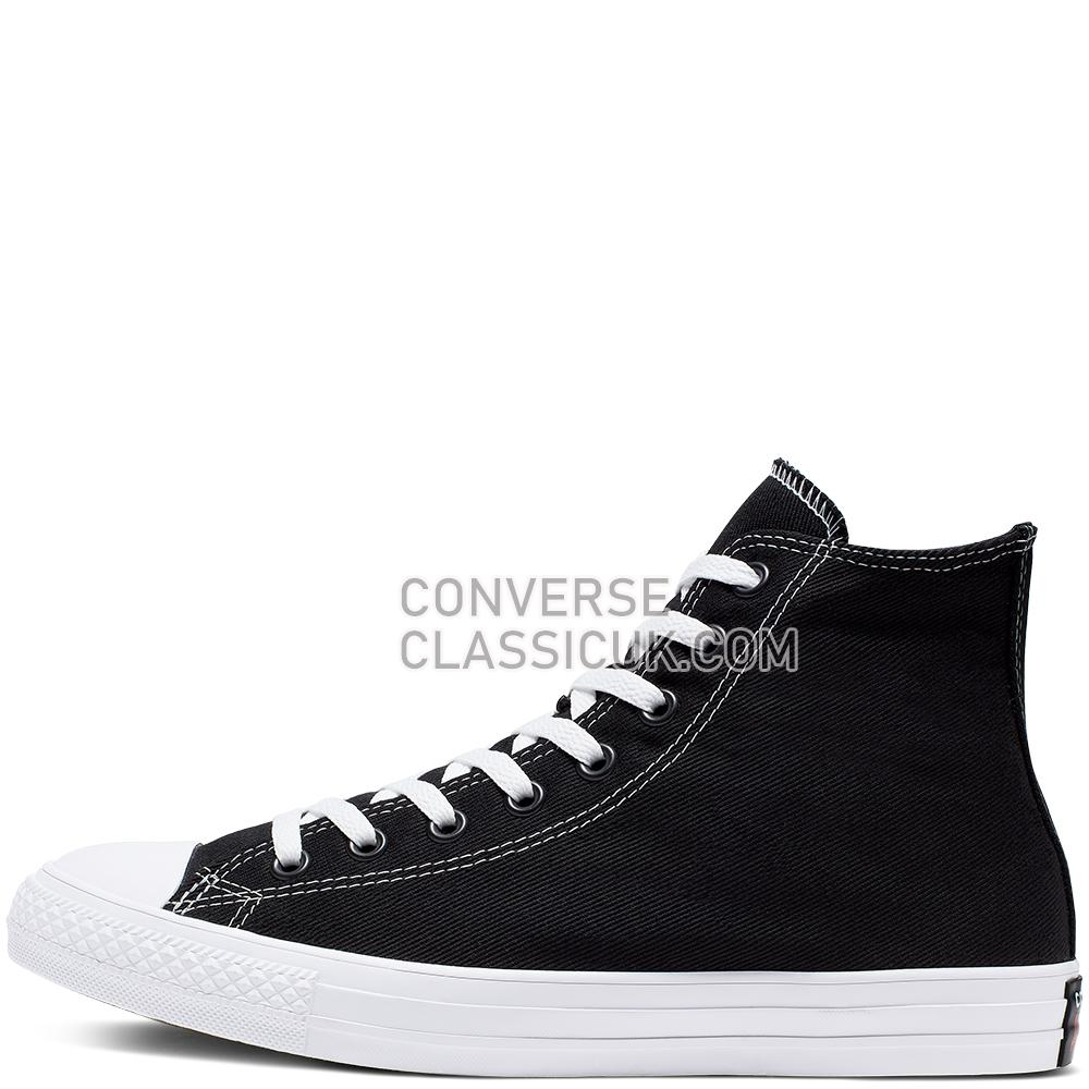 Converse Chuck Taylor All Star Space Racer High Top Mens Womens Unisex 165091C Black/Enamel/Red/White Shoes