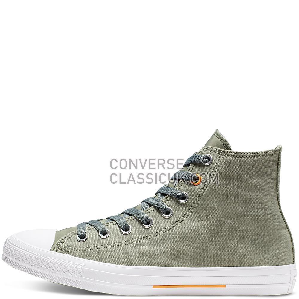 Converse Chuck Taylor All Star Flight School High Top Mens Womens Unisex 165052C Jade/Stone/Orange/Rind/White Shoes