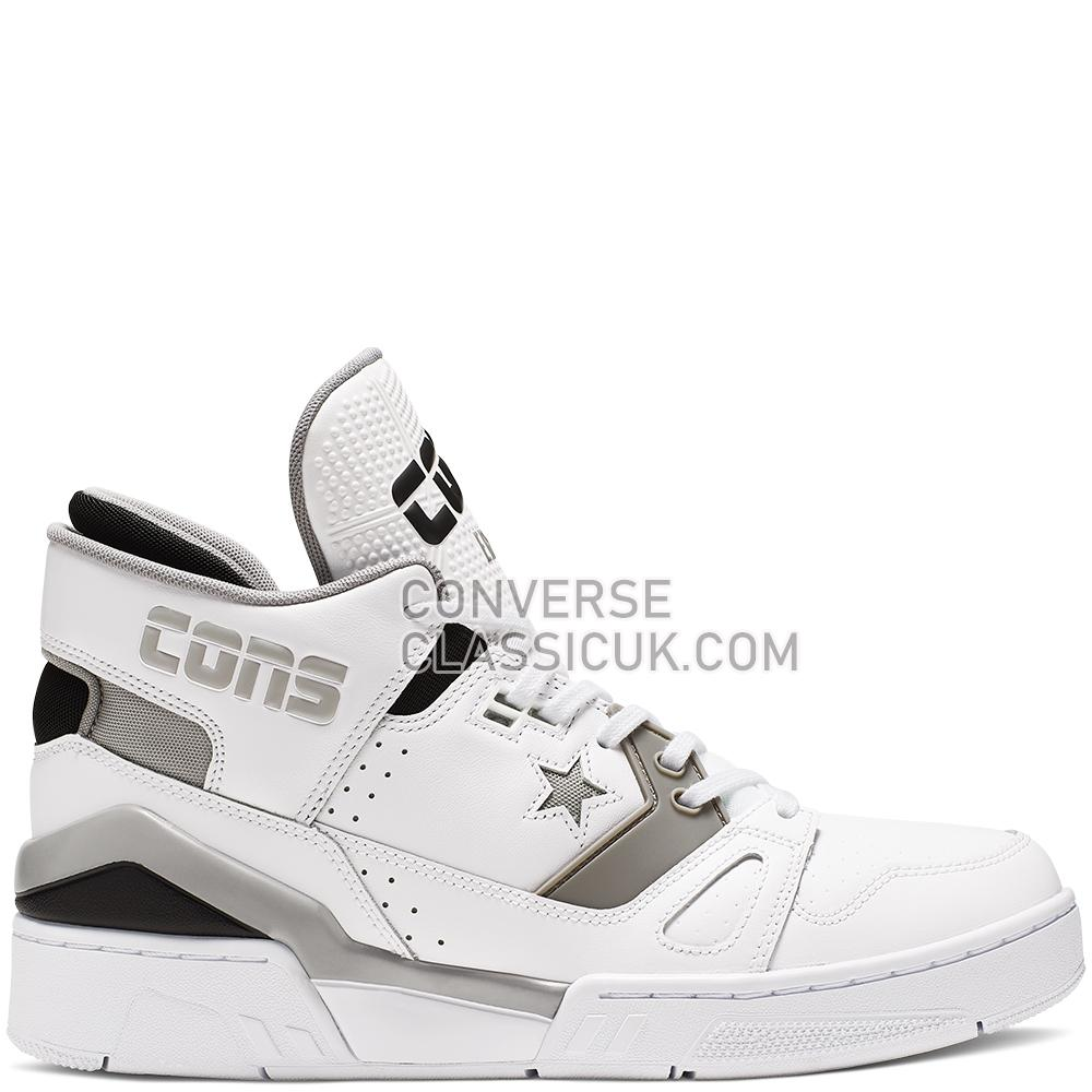 Converse ERX 260 Mid Mens 165329C White/Mouse/Black Shoes