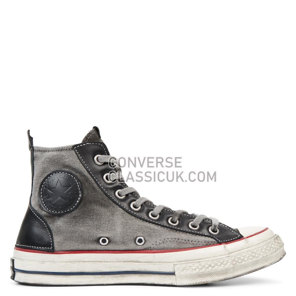 Converse Chuck 70 Vintage High Top Mens Womens Unisex 165803C Parchment/Space/Vintage/Grey Shoes