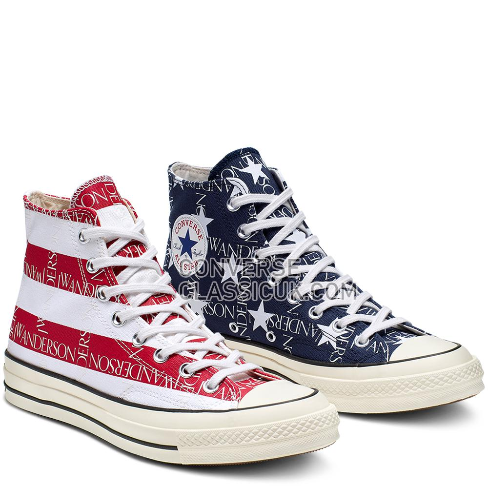 Converse x JW Anderson Americana Chuck 70 High Top Mens 164841C Mood/Indigo/Garnett/Egret Shoes