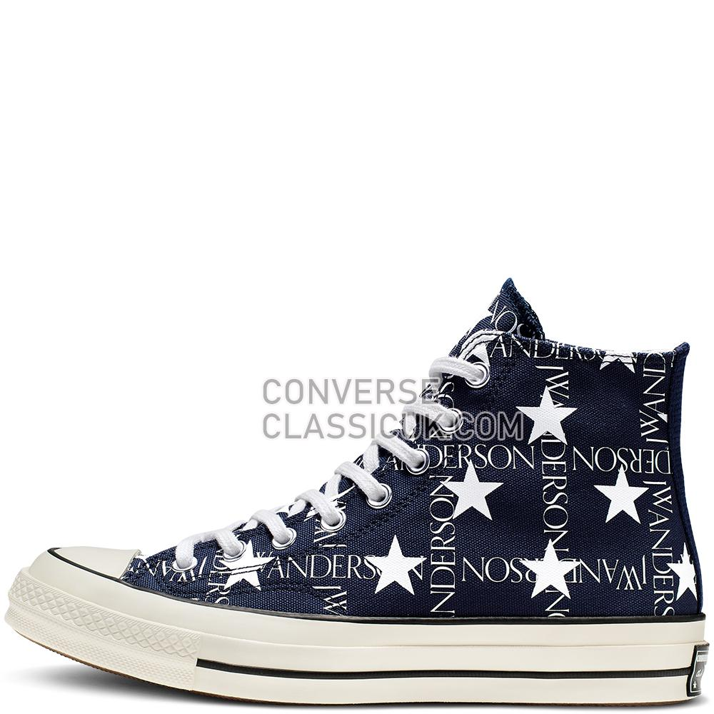 Converse x JW Anderson Americana Chuck 70 High Top Mens 164841C Mood/Indigo/Garnett/Egret Shoes
