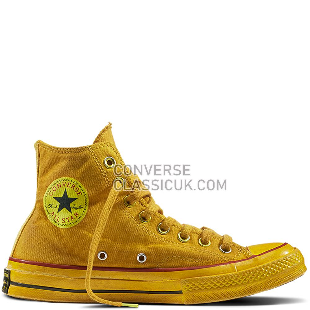 Converse Chuck 70 Crafted Dye High Top Mens 160446C Turmeric/Egret/Black Shoes