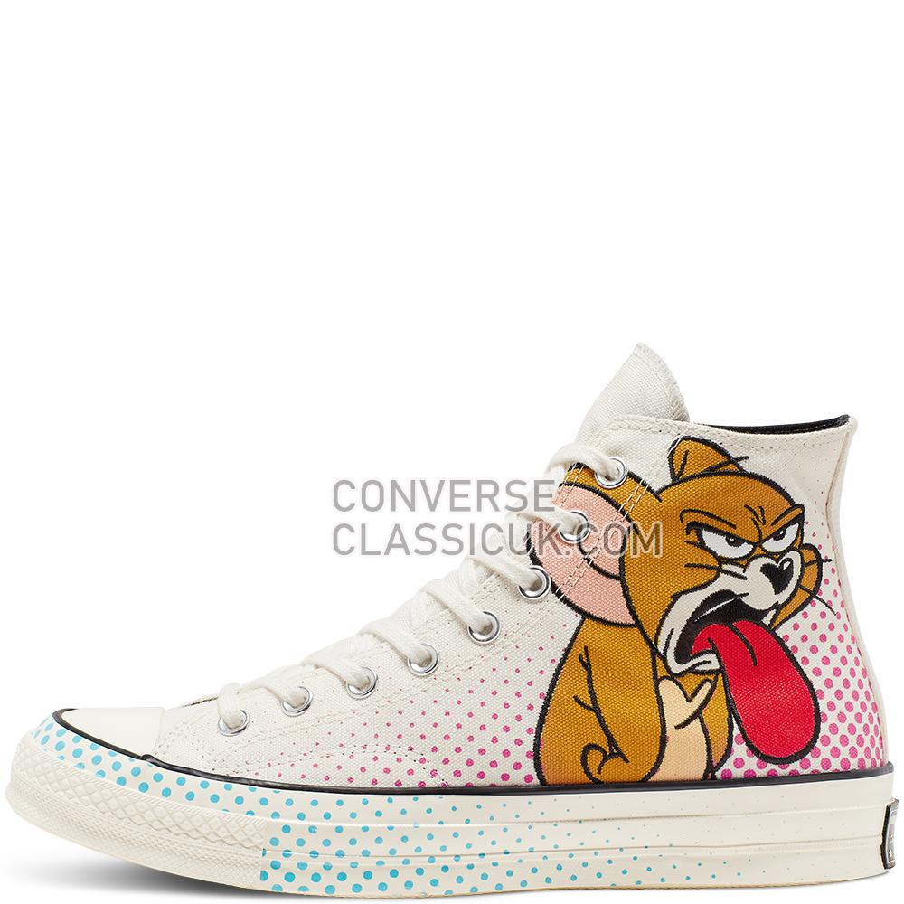Converse Tom and Jerry Chuck 70 High Top Mens 165734C Egret/Red/Black Shoes