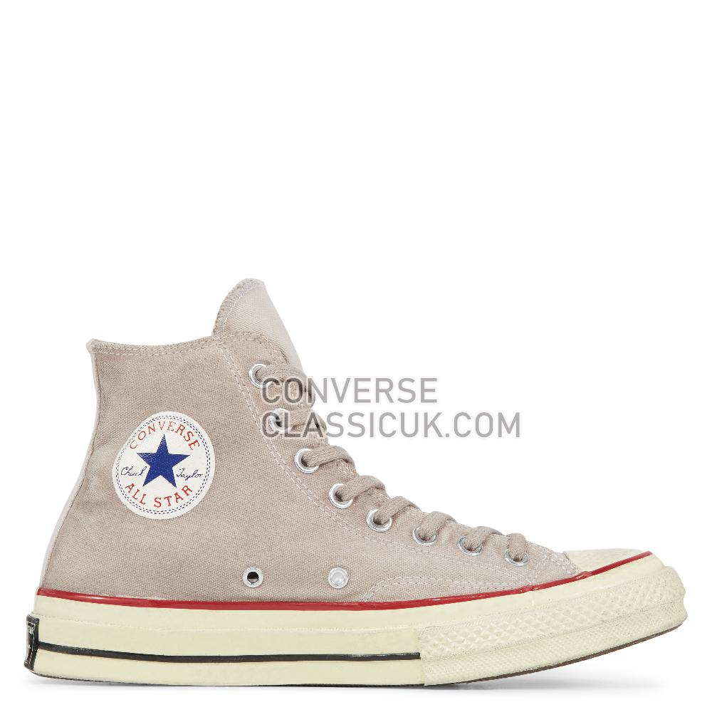 Converse Chuck 70 Ltd High Top In White/Wine Dyed Mens Womens Unisex 162901C Wine/Dyed Shoes