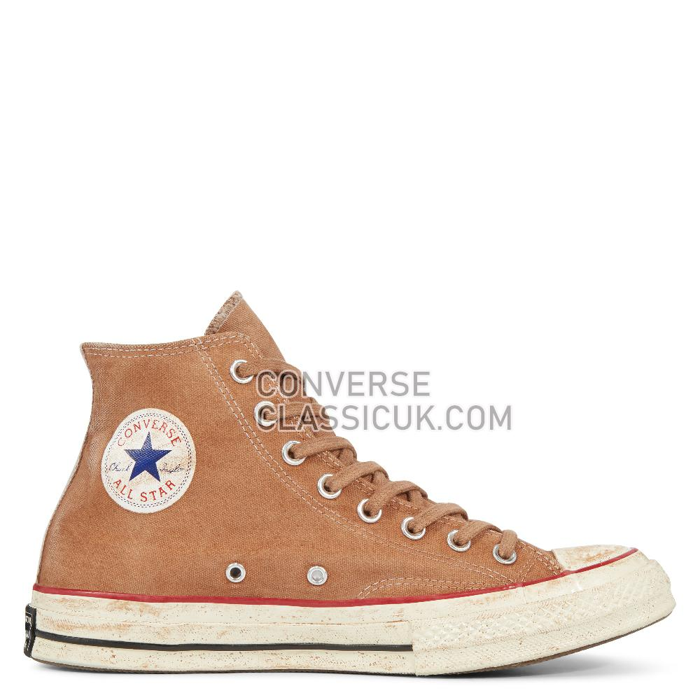 Converse Chuck 70 Ltd High Top In White/Choco Dyed Mens 162903C Choco/Dyed Shoes