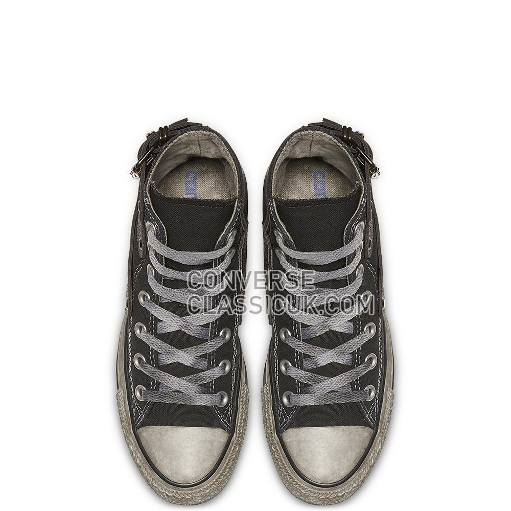 Converse Chuck Taylor All Star Studded High Top Mens 164524C Black/Buckle/Studded/Black Shoes
