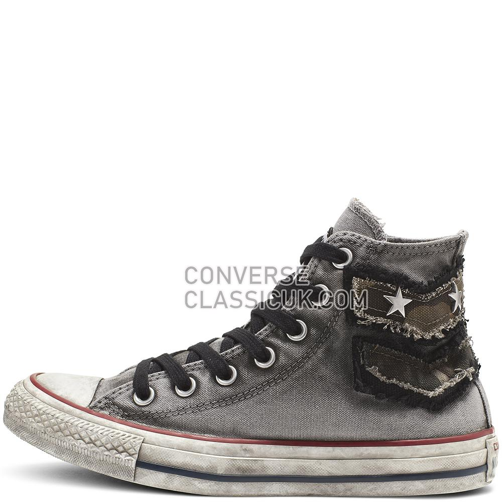 Converse Chuck Taylor All Star Graduate Patchwork High Top Mens 164518C Graduate/Patchwork/White Shoes
