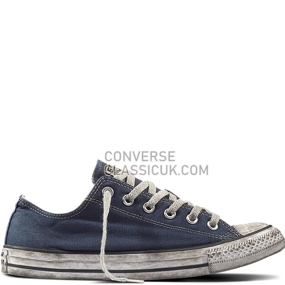 Converse - Chuck Taylor All Star LTD Smoke In - Navy/Navy/White Mens 156893C Navy/Navy/White Shoes