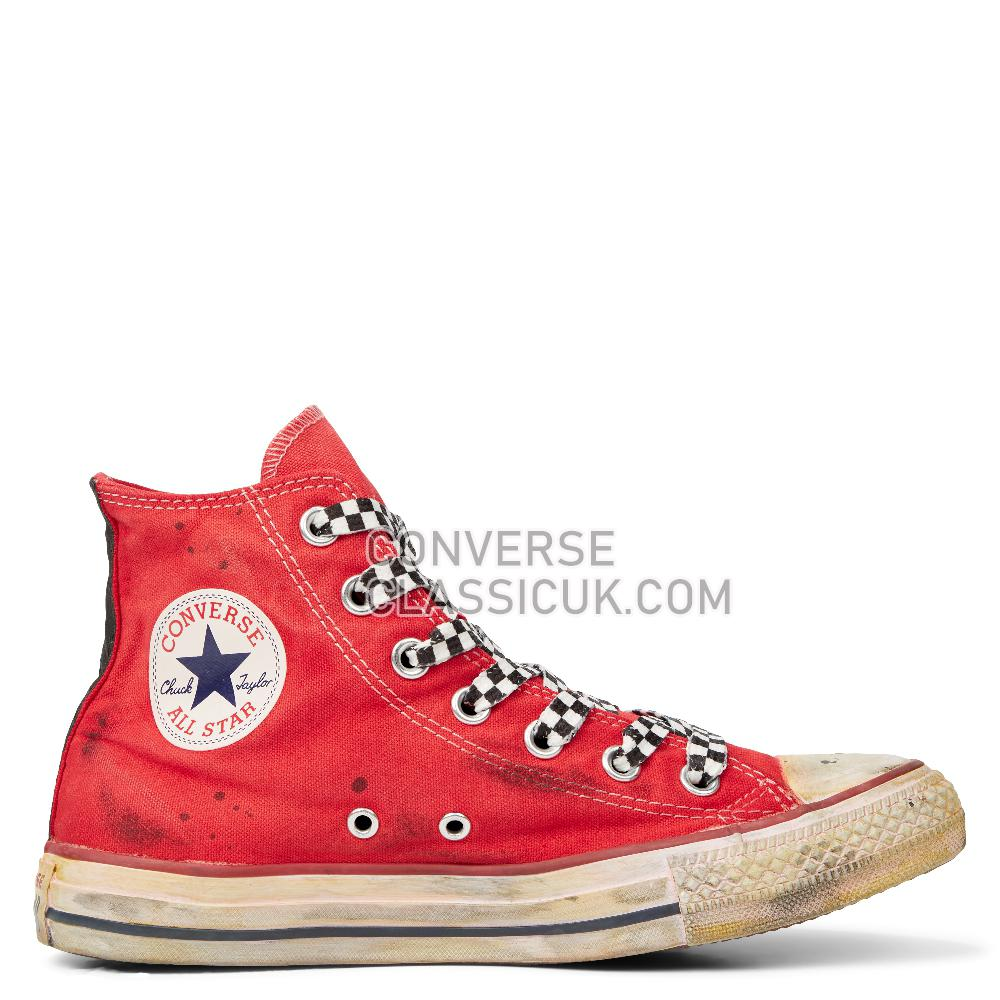 Converse Chuck Taylor All Star Space Race High Top Mens Womens Unisex 165753C Optical/White/Space/Race/Red Shoes