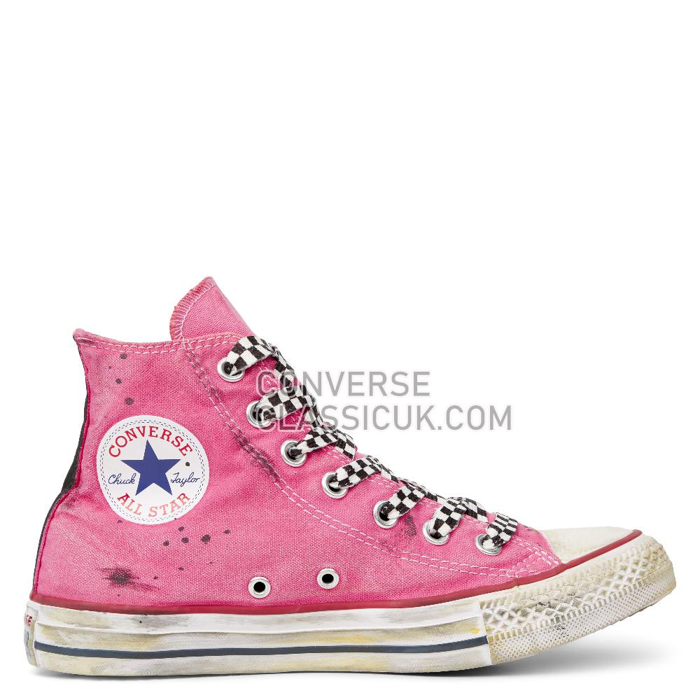 Converse Chuck Taylor All Star Space Race High Top Mens 165754C Optical/White/Space/Race/Pink Shoes