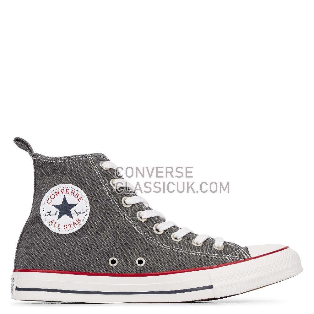 Converse Chuck Taylor All Star Washed Denim High Top Mens 164505C Thunder/Thunder/Vintage/White Shoes
