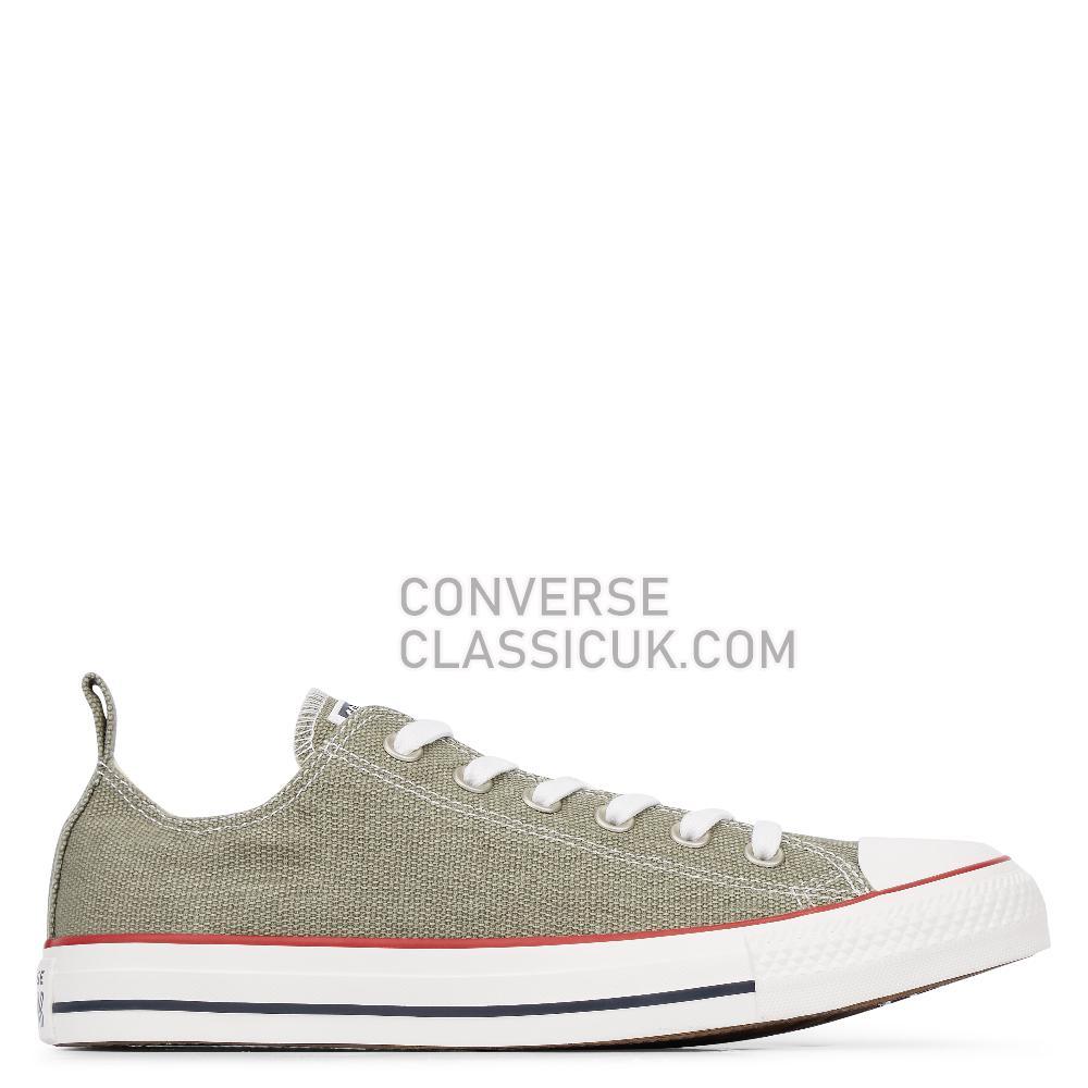 Converse Chuck Taylor All Star Washed Denim Low Top Mens Womens Unisex 164003C Vintage/Lichen/Vintage/Lichen Shoes
