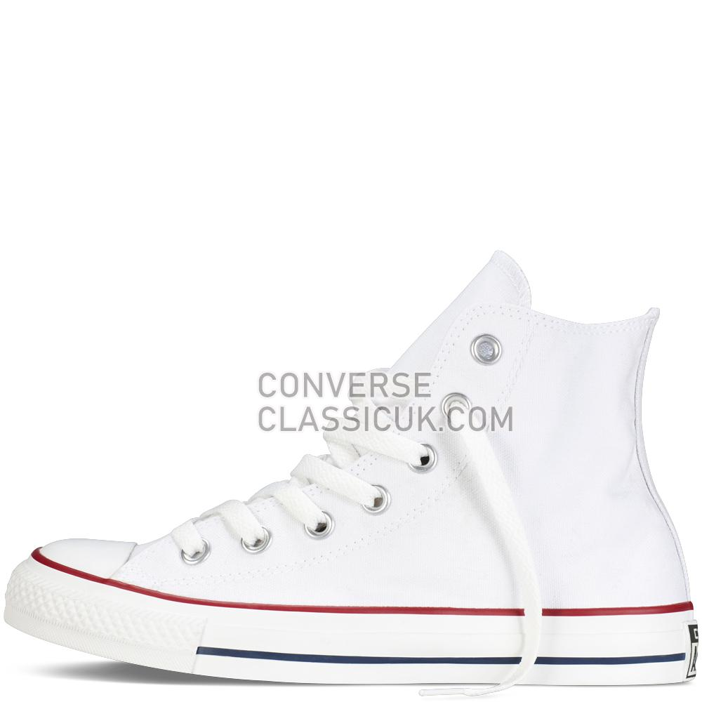 Converse Chuck Taylor All Star Classic Colours Optical White Mens Womens Unisex M7650C Optical/White Shoes