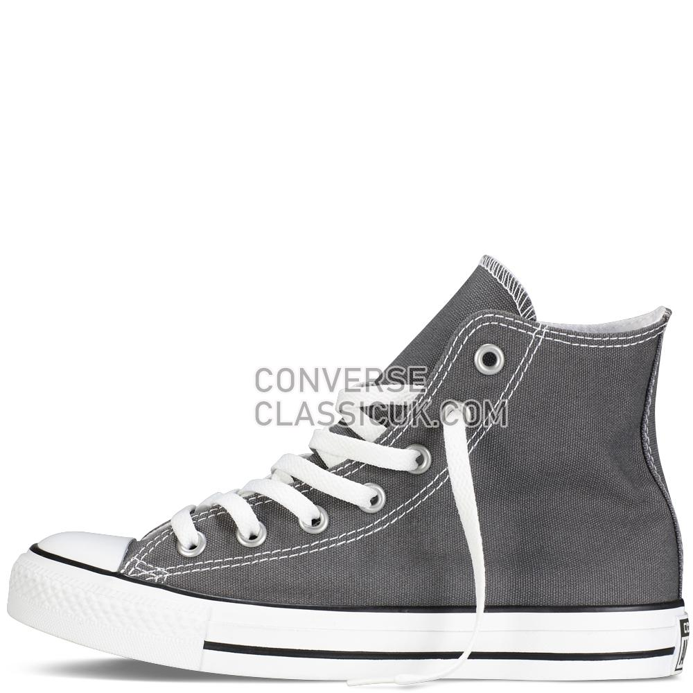Converse Chuck Taylor All Star Classic Colours Charcoal Mens Womens Unisex 1J793C Charcoal Shoes