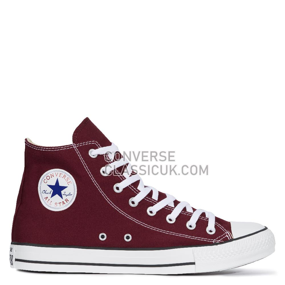 Converse Chuck Taylor All Star Classic Colors - Maroon Mens Womens Unisex M9613C Maroon Shoes