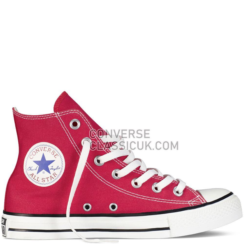 Converse Chuck Taylor All Star Classic Colours Red Mens Womens Unisex M9621C Red Shoes