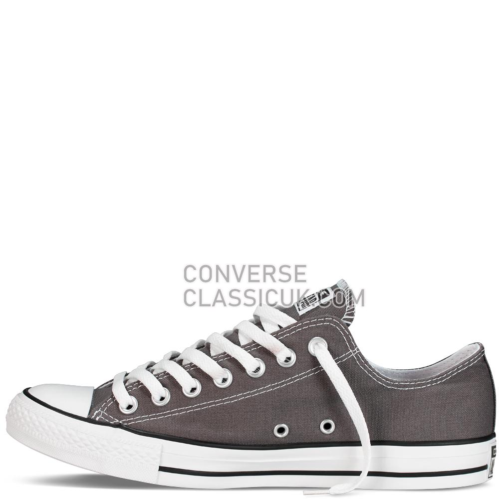 Converse Chuck Taylor All Star Classic Colours Charcoal Mens Womens Unisex 1J794C Charcoal Shoes