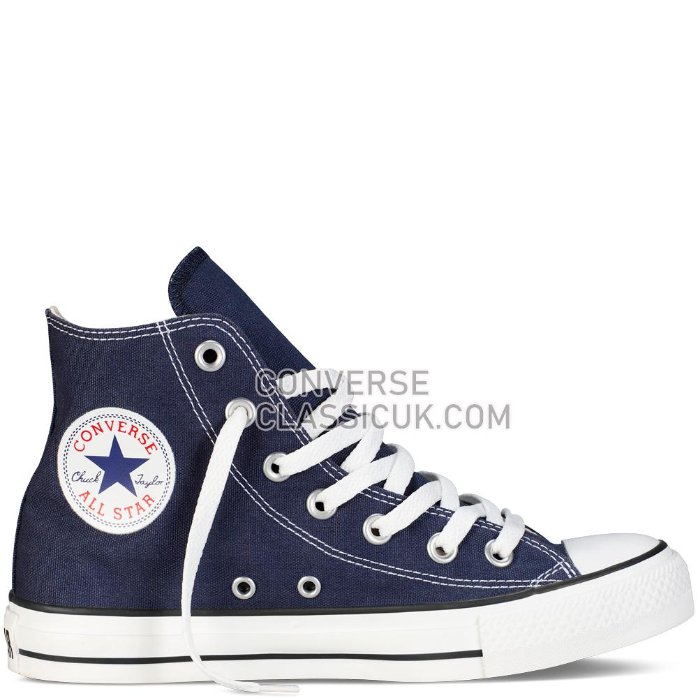 Converse Chuck Taylor All Star Classic Colours Navy Mens Womens Unisex M9622C Navy Shoes