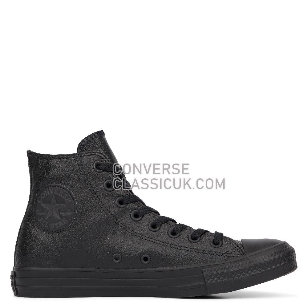 Converse  Black Mono Mens Womens Unisex 135251C Black/Mono Shoes