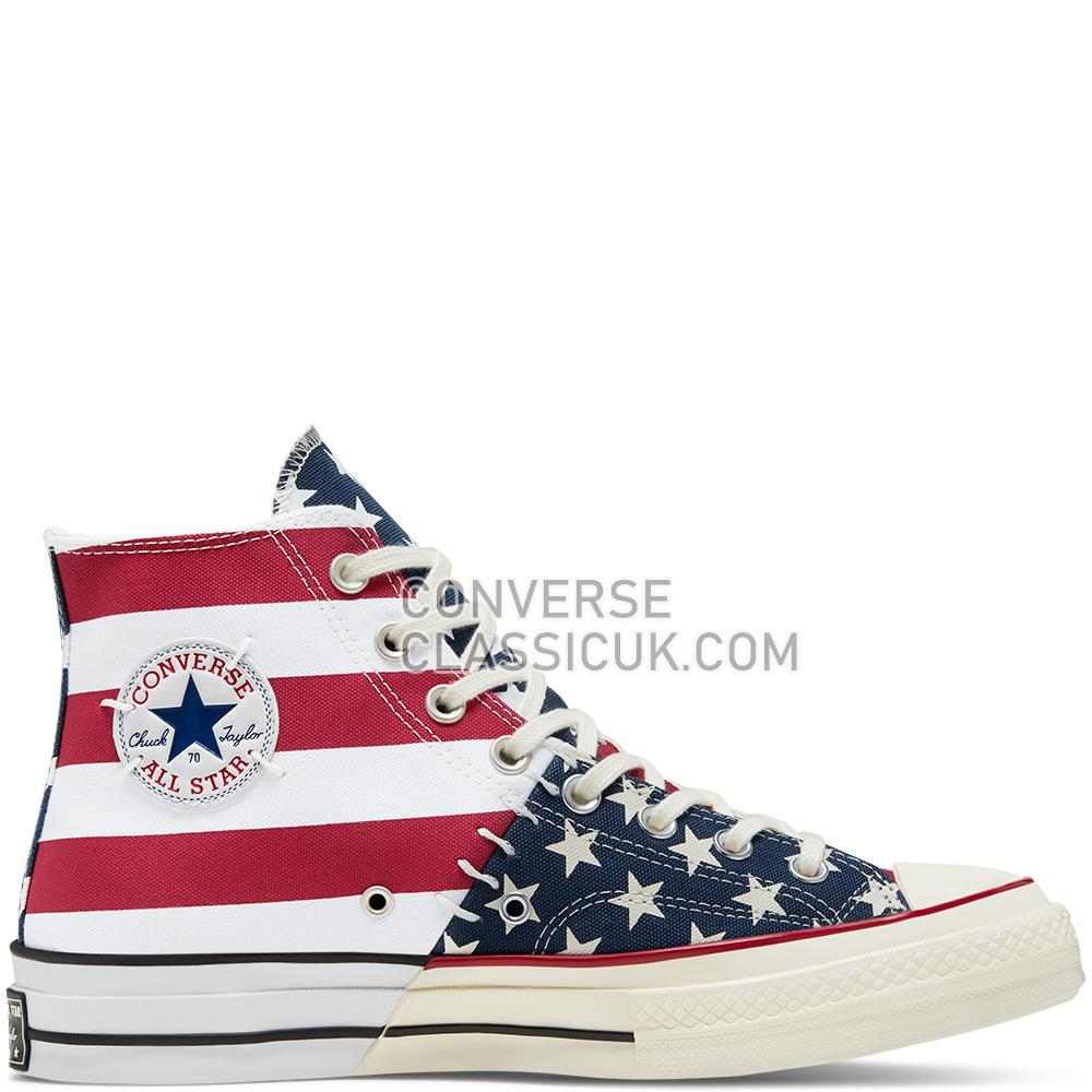 Converse Chuck 70 Archive Restructured High Top Mens 166426C White/Garnet/Egret Shoes