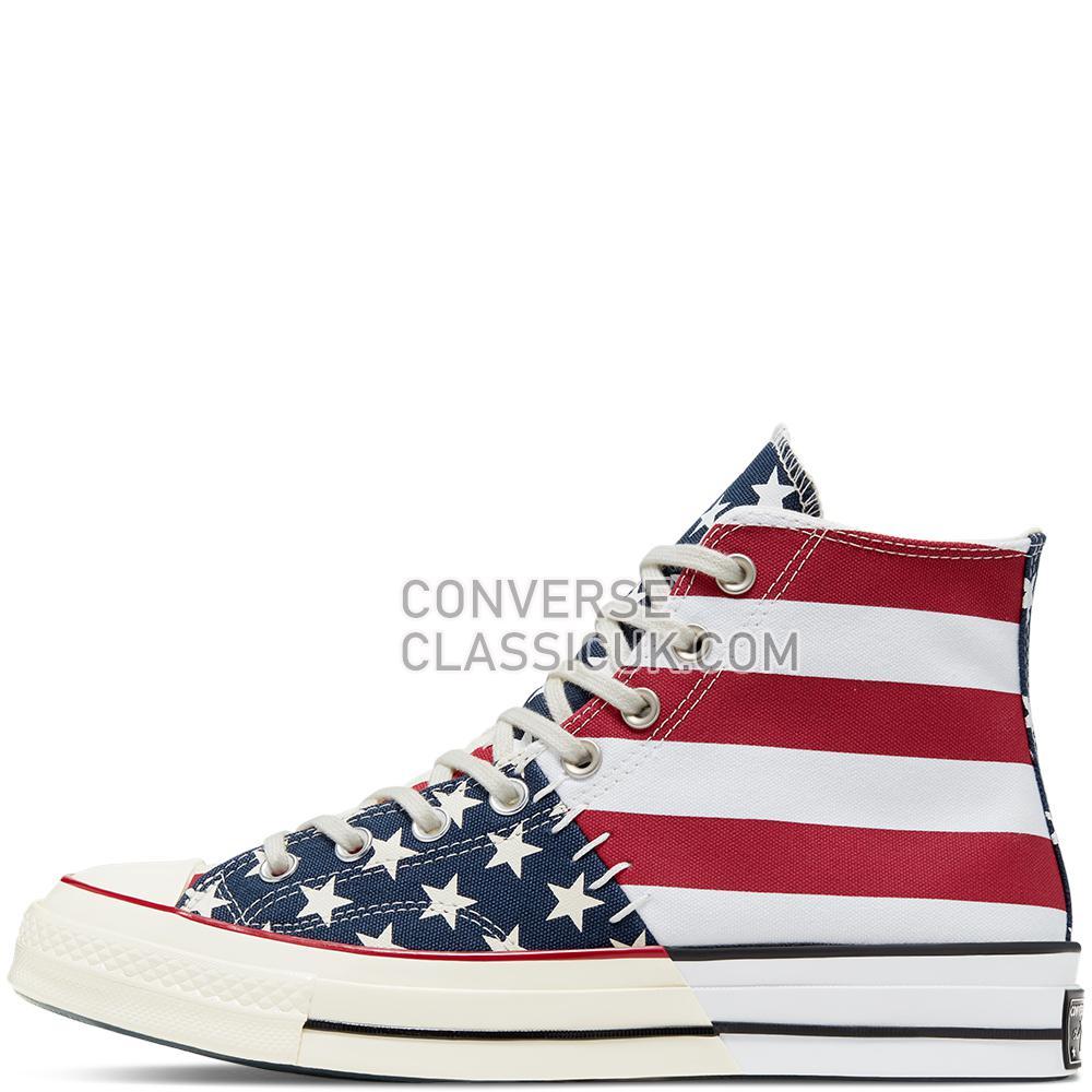 Converse Chuck 70 Archive Restructured High Top Mens 166426C White/Garnet/Egret Shoes