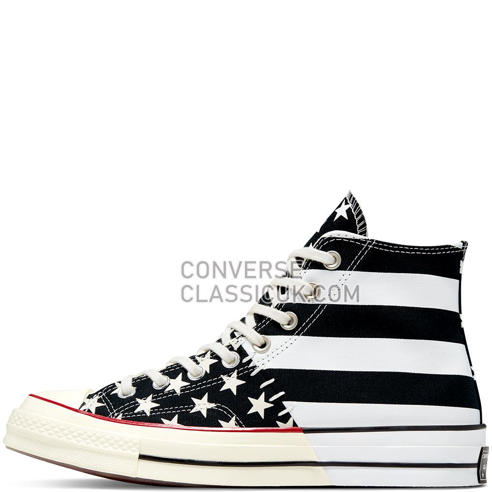 Converse Chuck 70 Archive Restructured High Top Mens 166425C Black/White/Egret Shoes