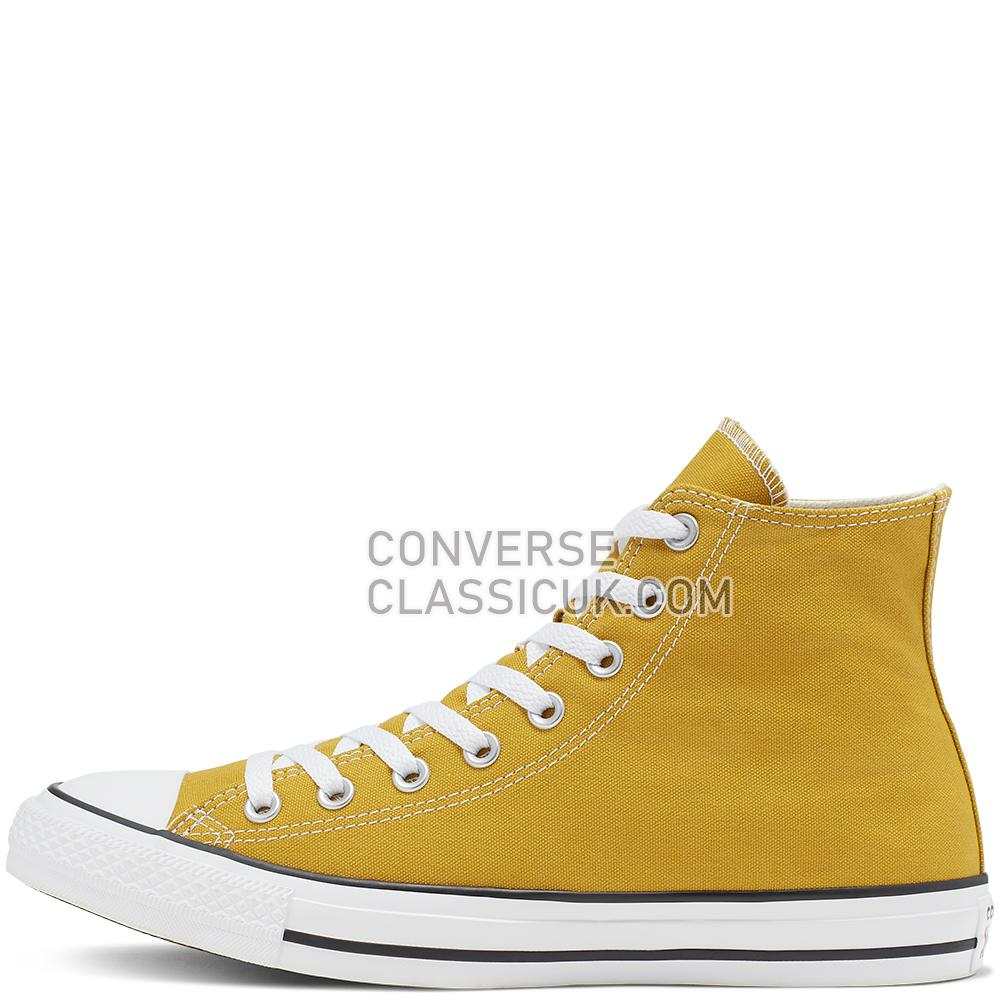Converse Chuck Taylor All Star Seasonal Colour High Top Mens Womens Unisex 164932C Gold/Dart Shoes