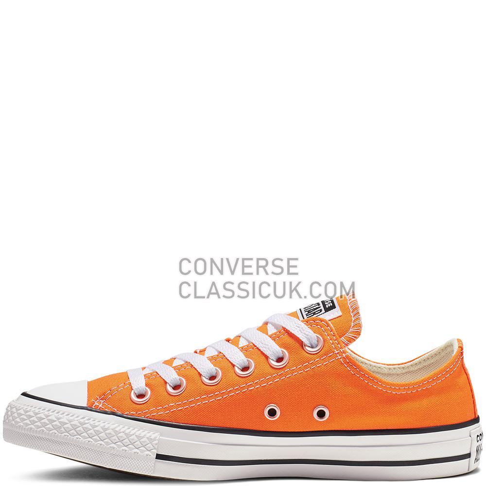 Converse Chuck Taylor All Star Low-Top Mens Womens Unisex 164937C Orange/Rind Shoes