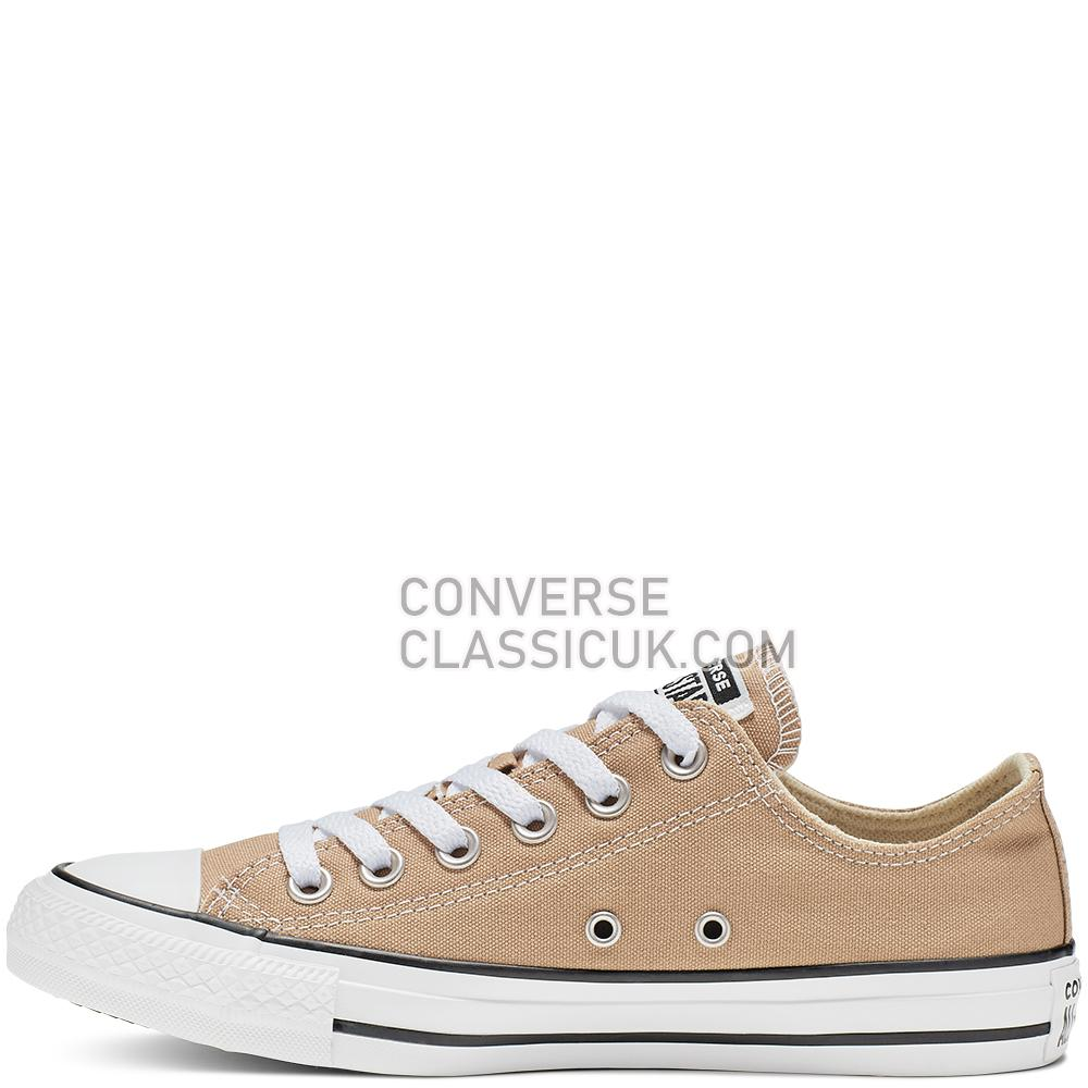 Converse Chuck Taylor All Star Low-Top Mens Womens Unisex 164938C Desert/Khaki Shoes