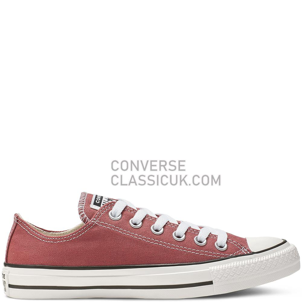 Converse Chuck Taylor All Star Low-Top Mens Womens Unisex 164935C Light/Redwood Shoes
