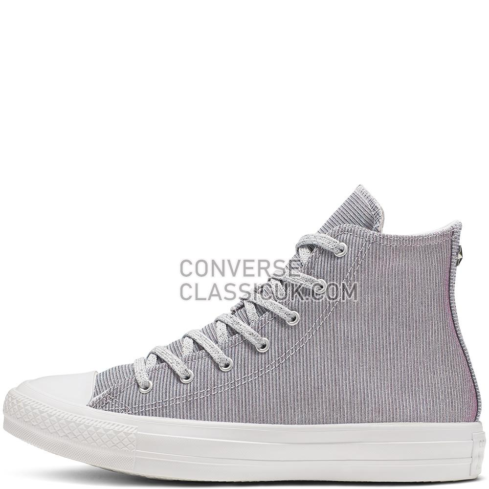 Converse Chuck Taylor All Star Starware High Top Womens 564910C Pure/Platinum/Blue/Pink Shoes