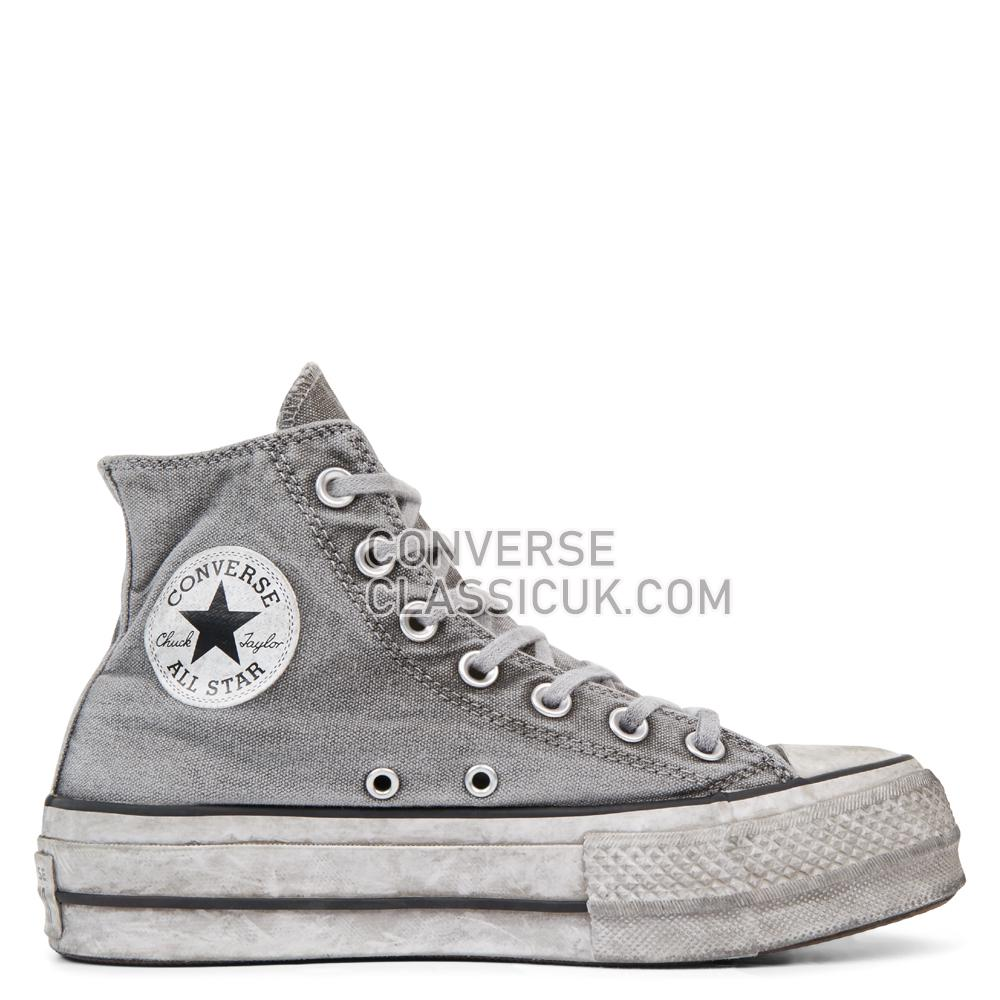 Converse Chuck Taylor All Star Vintage Star Studs Platform High Top Womens 565757C White/Vintage/Star/Studs Shoes