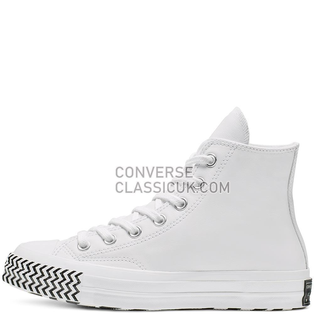 Converse CHUCK 70 VLTG High Top Womens 564970C White/Black/White Shoes